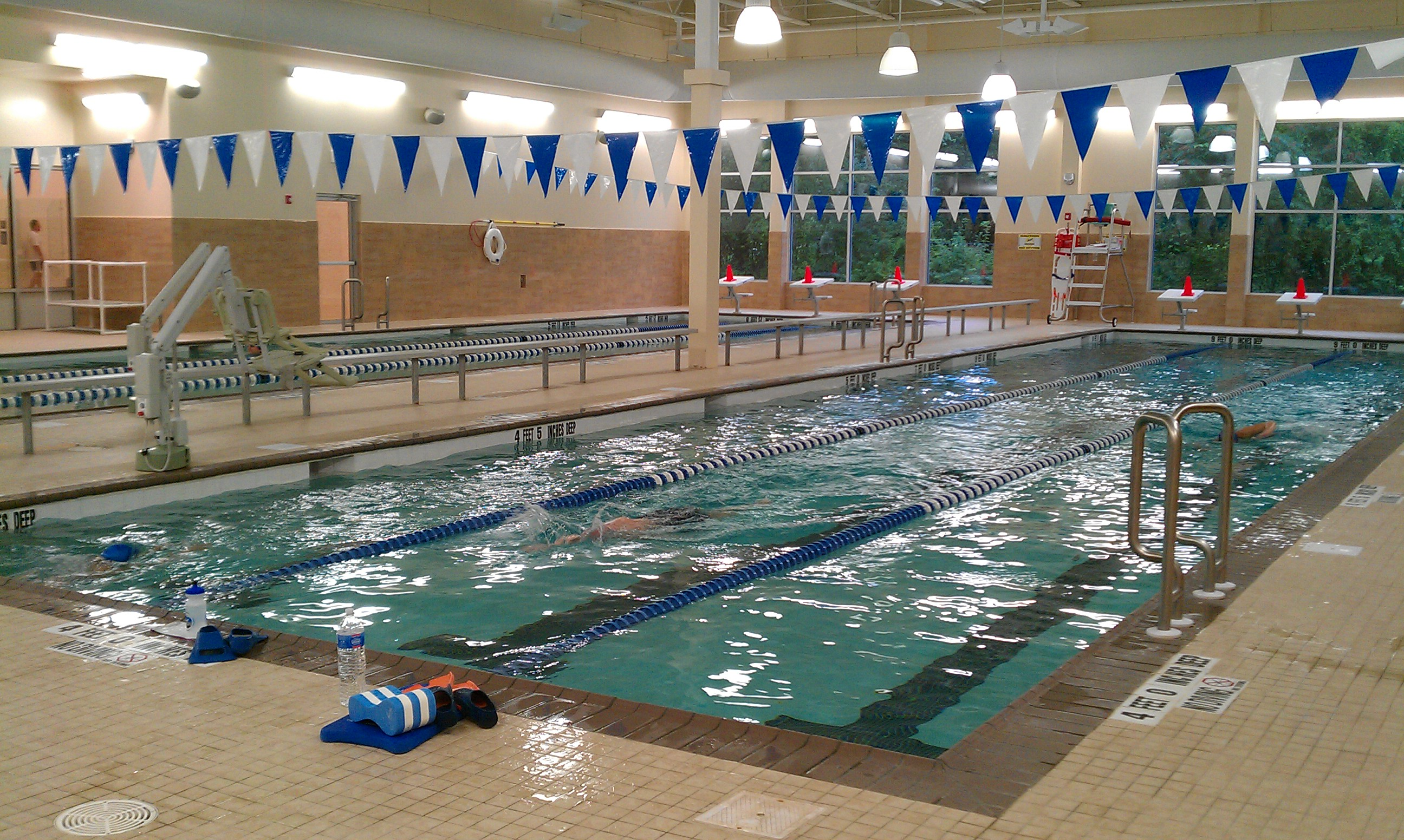 Motivational lymphedema diary by britta vander linden for Salt water pool